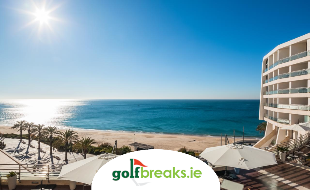 enjoy picturesque beach views from the Sesimbra Hotel & Spa and play some great local courses